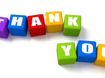 TCGC Thank You
