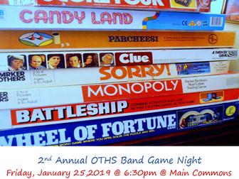 Game Night Fundraiser