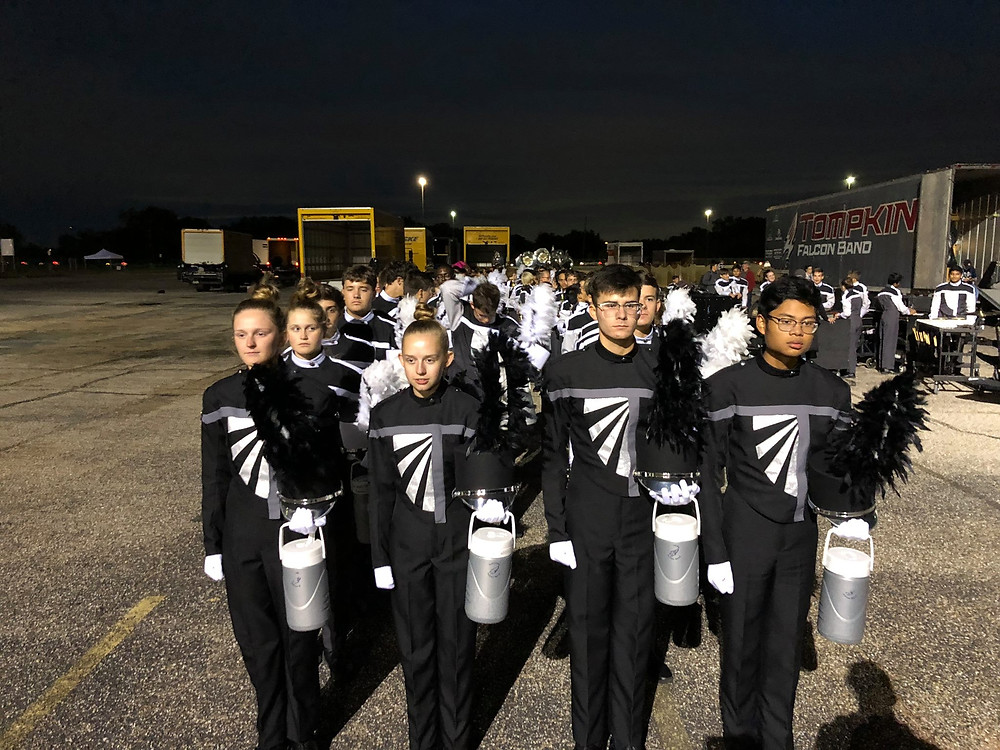 2018 UIL Region Marching Contest