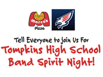 Spirit Night at Marco's Pizza