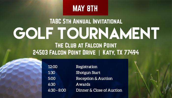 TABC 5th Annual Invitational Golf Tournament
