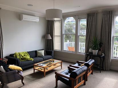 Lounge Heating, Heatpump