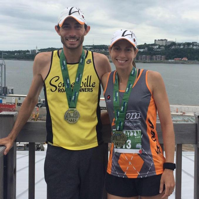 SSQ Quebec City Marathon - pacing myself