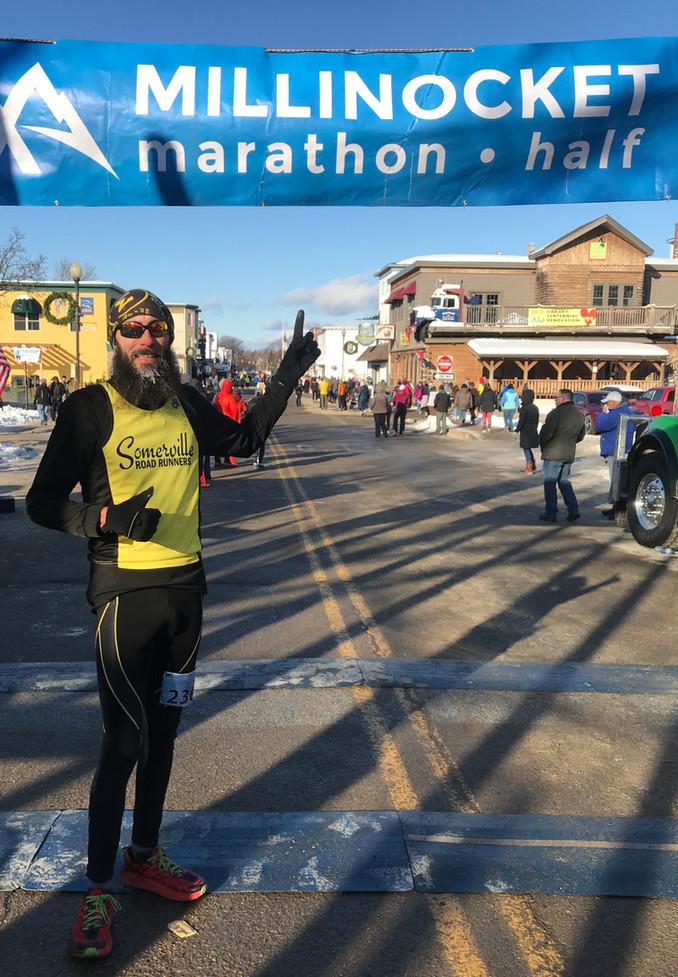 Maine's Famous Millinocket Marathon