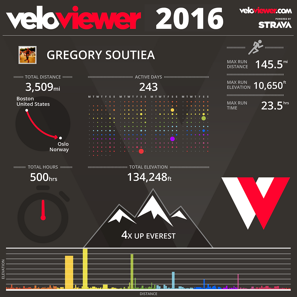 2016 year in review miles