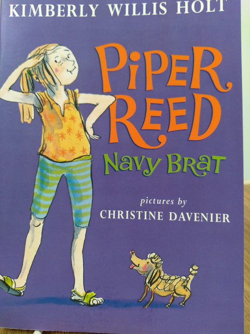 Piper Reed Navy Brat by Kimberly Willis Holt