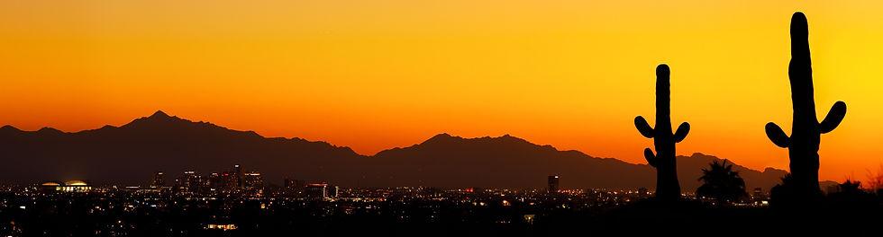 Sonoran Desert Lanscape Sunset