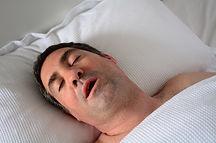 Snoring. Stop breathing. Sleep apnea.