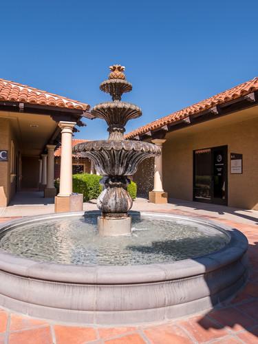 Sonoran Sleep Center Front Courtyard