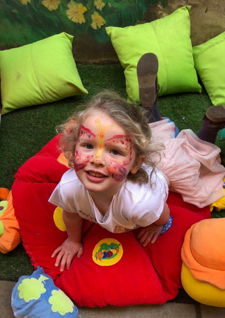 Spring Festival and face painting at Sutherland Nursery
