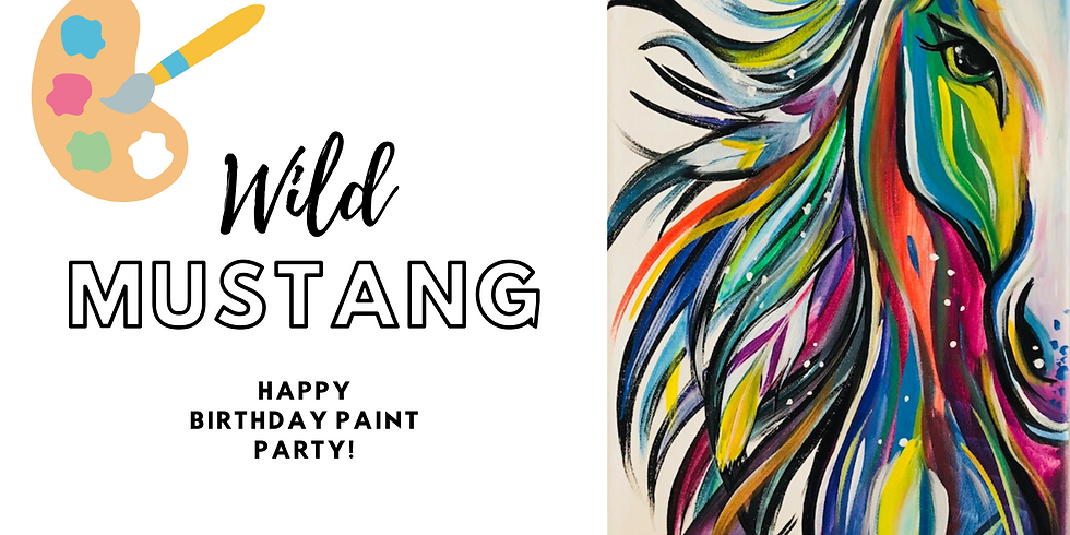 (Private) Wild Mustang Virtual Paint Party