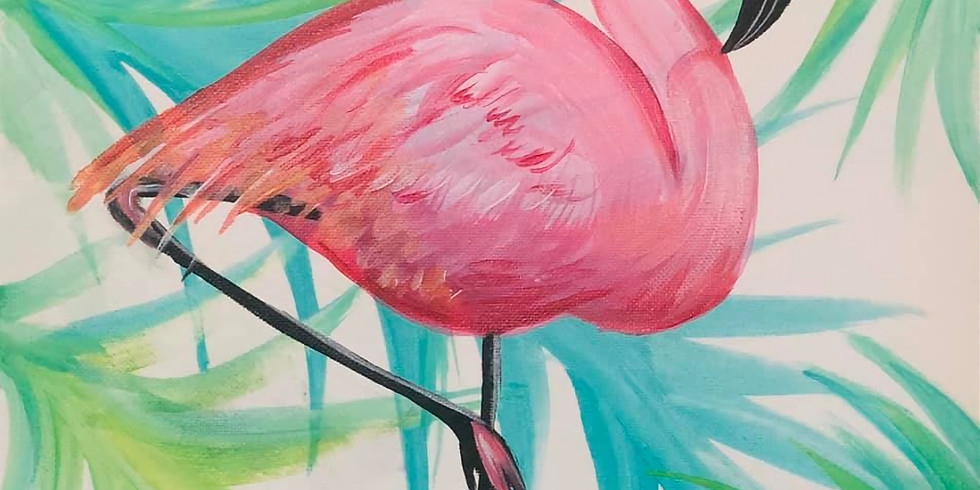 (Private) Flamingo Virtual Paint Party