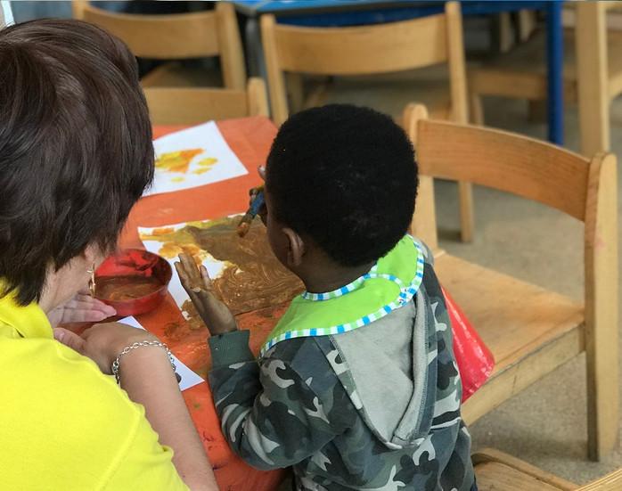 Sutherland Nursery supporting children