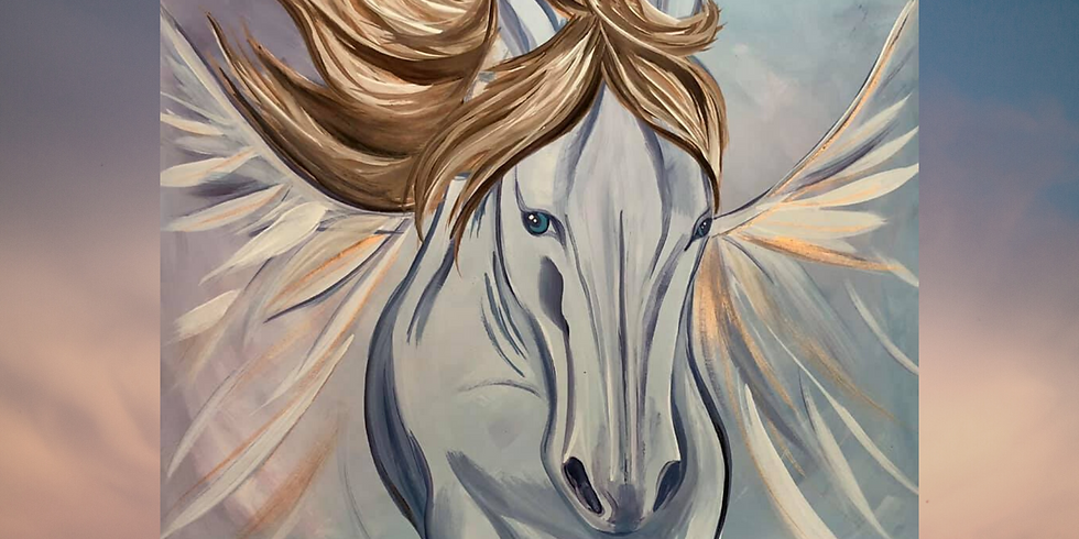 Angel Horse Paint Party (We May Postpone or do a Virtual Party TBD)
