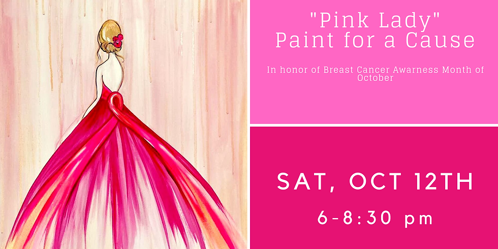 """""""Pink Lady"""" Paint for a Cause"""