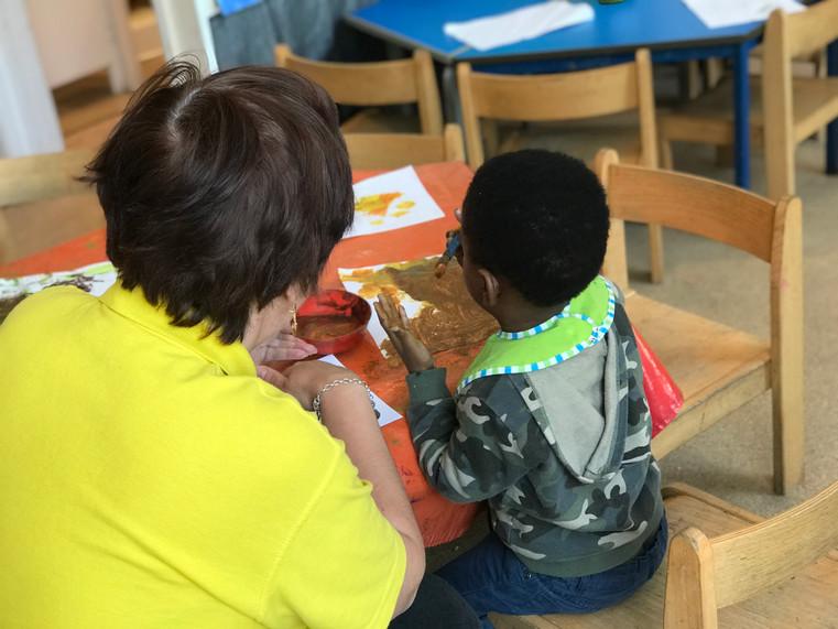 creative arts at Sutherland Nursery