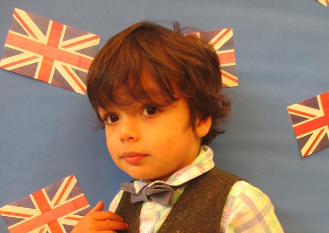 Sutherland Nursery celebrating the royal wedding