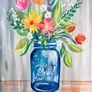 MASON JAR BOUQUET