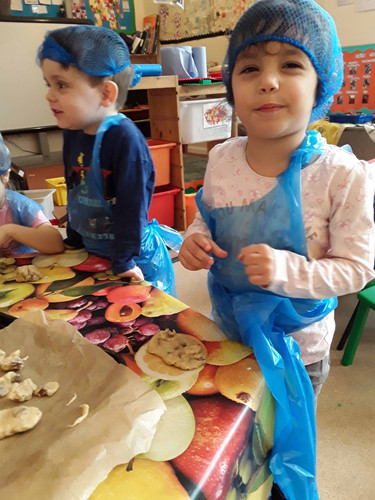 serious cooking activities at Sutherland Nursery