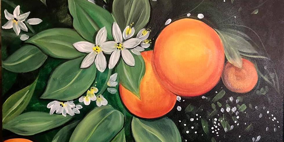 Redland's Oranges RTA Virtual Paint Party