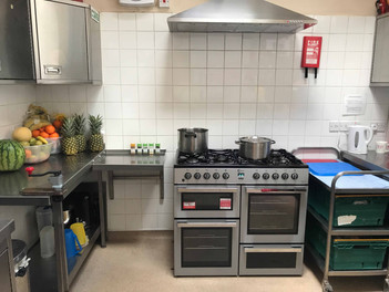 fully equipped kitchen at Sutherland Nursery