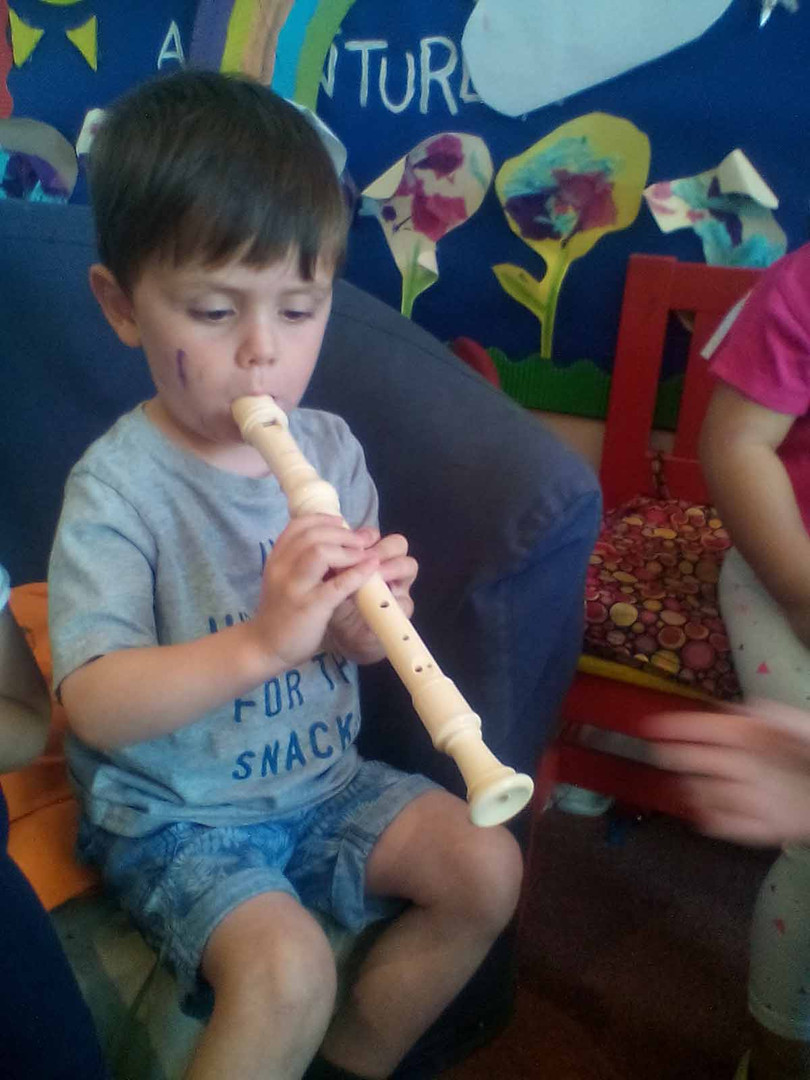 learning to play instruments
