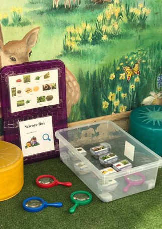 magnifying glasses for exploration and learning about nature