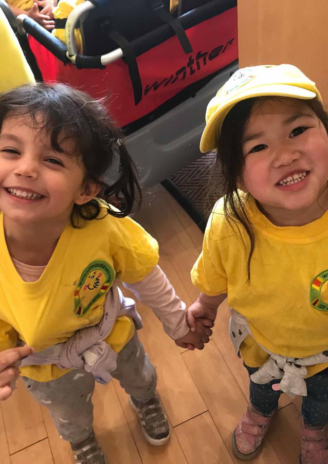 Sutherland Nursery friendships