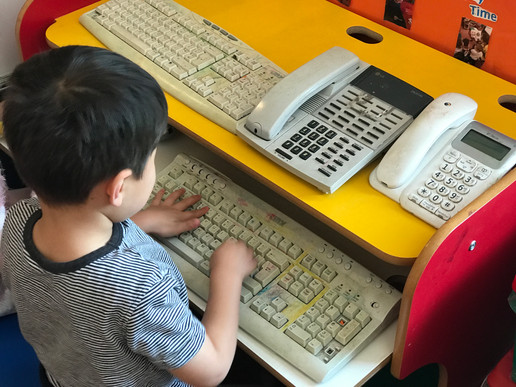 Typing and Learning