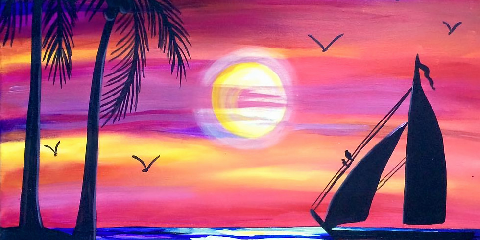 Tara's Virtual Sunset Sailboat Party (Private)
