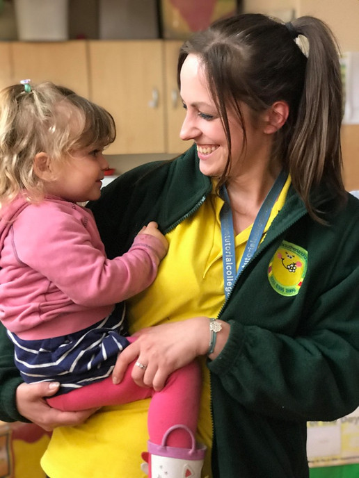 loving and caring staff at Sutherland Nursery