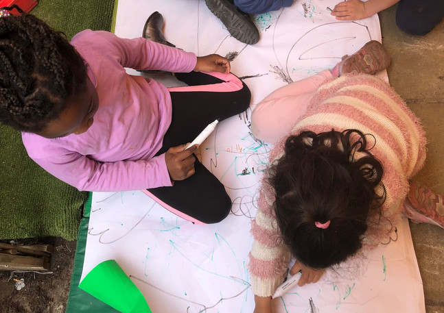 art activities in the garden