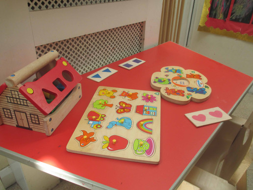 Puzzles and Shape Sorters