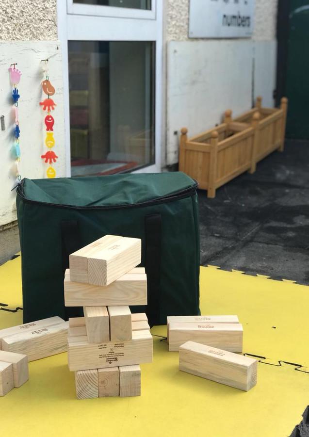 Sutherland Nursery wooden garden toys
