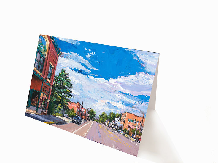 Twin Bridges Greeting Card