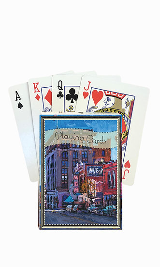 Butte Playing Cards - custom box