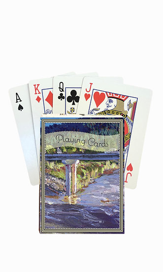 Milltown Playing Cards - custom box