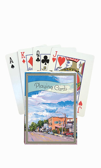 Twin Bridges Playing Cards - custom box