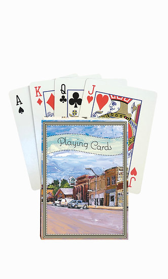 Harlowton Playing Cards - custom box
