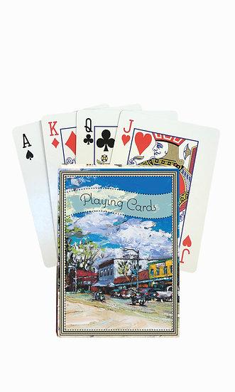 Stevensville Playing Cards - custom box