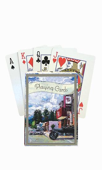 Libby Playing Cards - custom box