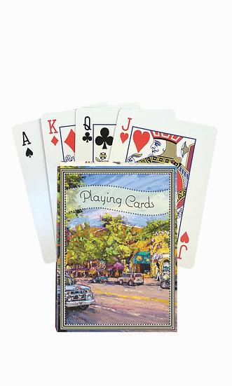 Bozeman Playing Cards - custom box
