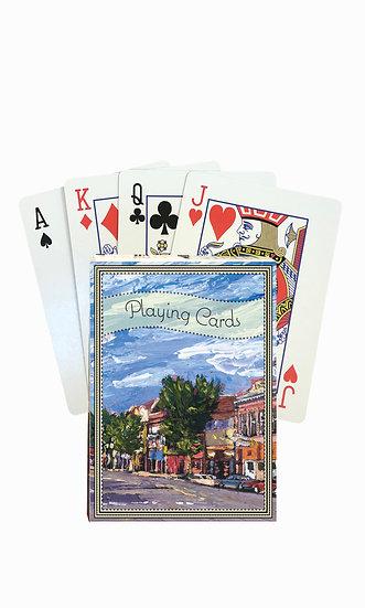 Deer Lodge Playing Cards - custom box