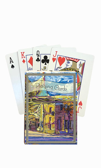 Billings Playing Cards - custom box
