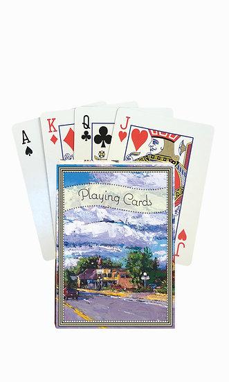 Kalispell Playing Cards - custom box