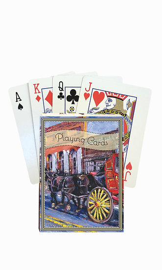 Virginia City Playing Cards - custom box