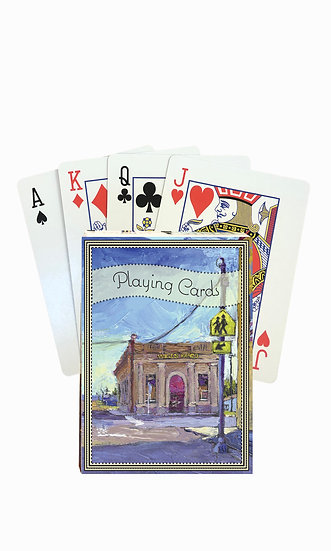 Big Sandy Playing Cards - custom box