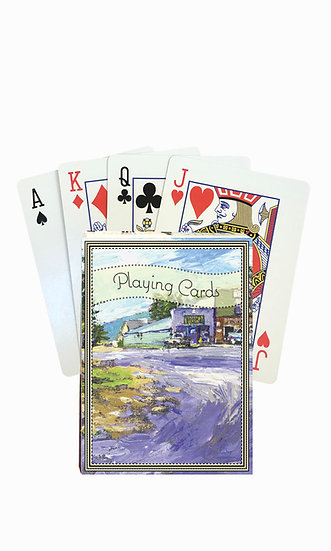 Ovando Playing Cards - custom box