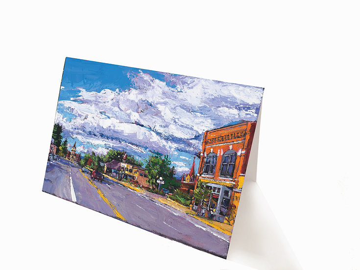 Kalispell Greeting Card
