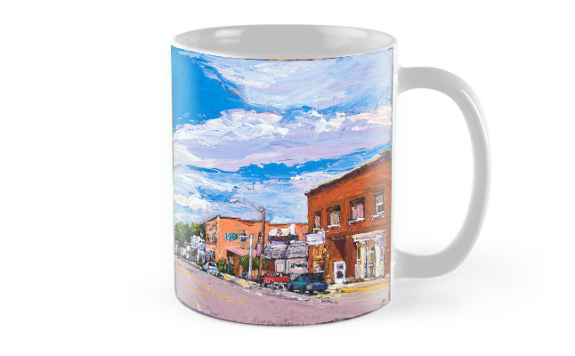 Twin Bridges Mug